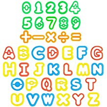 STOBOK 41pcs Play Dough Tool Kit Play Dough Accesorios Letras y números Cortadores Moldes Play Accesorios