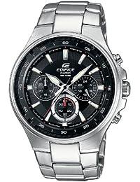 CASIO EF562D1AVEF - Reloj de caballero de cuarzo, correa de acero inoxidable color plata