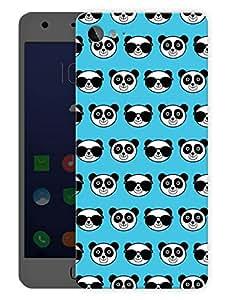"Humor Gang Cute Pandas BluePrinted Designer Mobile Back Cover For ""Lenovo Zuk Z2"" (3D, Matte Finish, Premium Quality, Protective Snap On Slim Hard Phone Case, Multi Color)"