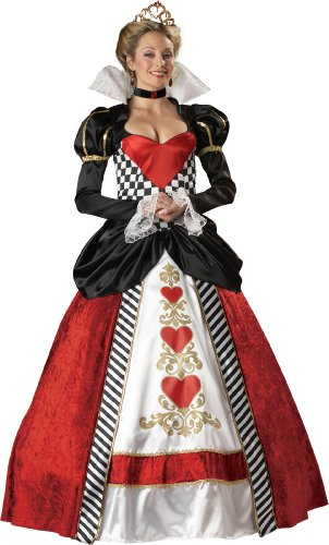 Herzdame-Rote Königin- Queen of Hearts- Kostüm Damen XL.