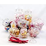 11 Pot vintage style victorien Pick & Mix Sweet Shop Candy Buffet kit Pack de fête