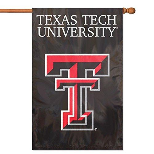 Party-Tier-Flaggen, offizielles Lizenzprodukt von NCAA College, Unisex-Erwachsene Damen Herren Kind, Texas Tech Red Raiders, Einheitsgröße -