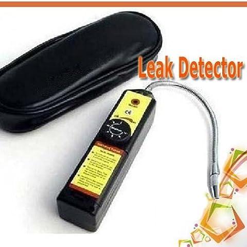 Yosoo Halógeno Gas Freón Refrigerante CFC HFC Detector de Fugas Leak Detector Climatización R134a R410a R22a
