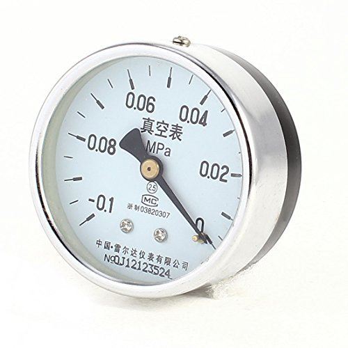 0 MPa - -0,1 MPa 1/4 NPT schroefdraad Klasse 2.5 Lower Mount Vacuum Gauge Lower Mount