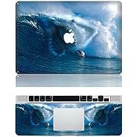 Vati fogli smontabili Surfers Encounter Copertina Squali di protezione completa di arte del vinile Decal Sticker Cover per Apple MacBook Air 13.3