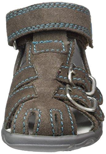 Richter Kinderschuhe Terrino, Chaussures Marche Bébé Garçon Grau (pebble/caribic/panna)