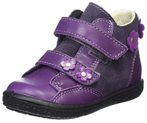 Ricosta Mädchen Abby Hohe Sneaker, Lavendel/Blackberry, 00023 EU (Lavendel Schuhe Mädchen)
