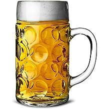 Boccale da birra tedesco in vetro a boccali di birra, boccali da birra, boccali di birra   2, 2pinta   bicchiere da birra, boccali di birra