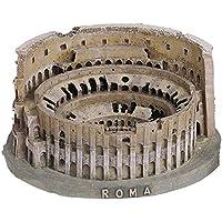 Souvenir del coliseo romano (Italia) en 3D. Producto realizado en resina. Dimensiones