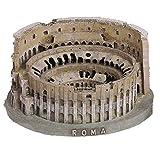 ARTE E STORIA BY PABEN Souvenir Italia Roma Colosseo 3D in Resina L.19,5 CM H. 9,5 CM