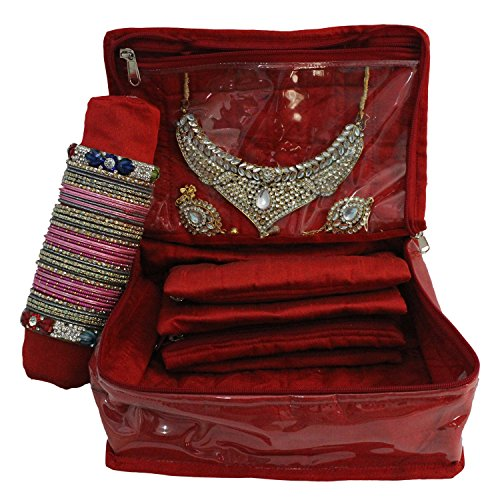 Glitter Collection (TM) Bangle box, make up kit, bridal set, wedding gift, make up box BANG002