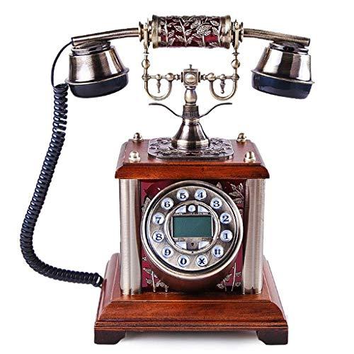 RMXMY Europäischen Stil Elegante antike Telefon Persönlichkeit kreative antike Festnetz Anrufer-ID Festnetz