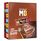 MuscleBlaze Mini-Protein Bar (10g Protein), 12 Piece(s)/Pack Choco Cranberry