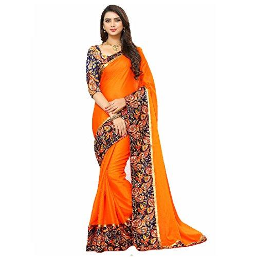 Regent-e Fashion Women\'s Georgette saree for women latest design 2018