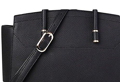 Ms. Borse Di Modo Sacchetto Polso Sacchetto Di Spalla Del Pacchetto Di Svago Pacchetto Diagonale Black