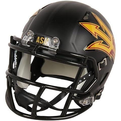 NCAA Arizona State Sun Devils Black Speed Mini Helmet by Riddell Inc.