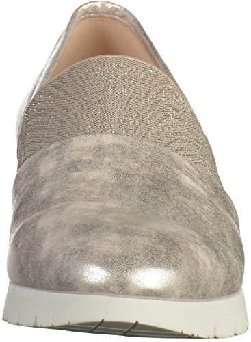Gabor 62.687 G Damen Slipper Silber