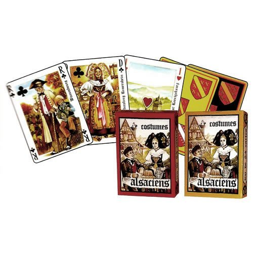 Dusserre - Alsatian Costumes 55 Playing Cards Game