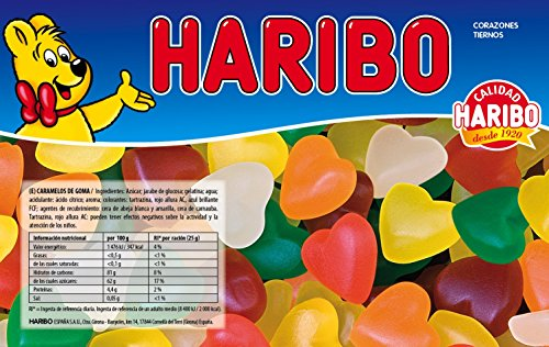 Preisvergleich Produktbild Haribo - zarte Herzen - 1000 Gr