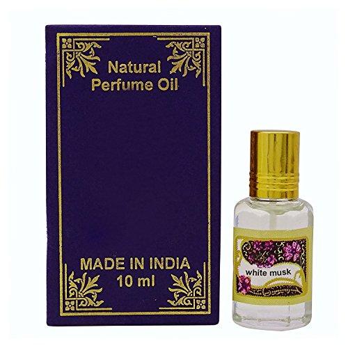 Natural Perfume Weißer moschus duftöl 100% reinen und natürlichen parfümöl - 10 ml