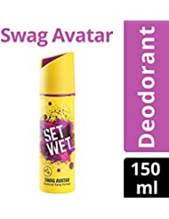 Set Wet Swag Avatar Deodorant Spray Perfume, 150ml