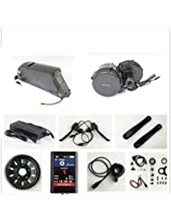 36V 500W Bafang 8fun Mid Crank Drive Motor Conversion Kits with LCD-TFT850C Display + 36V 12.5AH Down Tube ATLAS Frame Case iFunMobi Cell Battery with 2A Charger