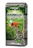 Rindenmulch Dekor 50 Liter Steingrau Deko-Mulch