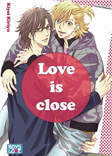 Love Is Close Livre Manga Yaoi Kiyoi Kiriyu Les