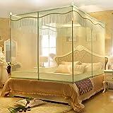 square Bett mit Edelstahl extravagant Moskitonetze