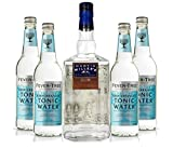 Martin Miller's Gin & Tonic Set - Martin Miller's Westbourne Strength Gin 0,7l (45,2% Vol) + 4x Fever-Tree Mediterranean Tonic Water 0,5l -[Enthält Sulfite]