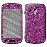 atFolix Samsung Galaxy S Duos 2 Skin FX-Glitter-Rich-Lilac Designfolie Sticker - Reflektierende Glitzerfolie