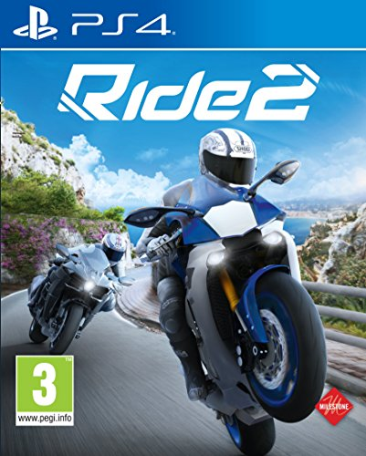 Namco Bandai Games Ride 2, PS4 Básico PlayStation 4 Inglés vídeo - Juego (PS4, Básico, PlayStation 4, Racing, E (para todos), Inglés, Milestone)