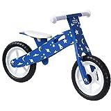 boppi® Bici senza pedali in legno 2-5 anni - Blu Spaziale