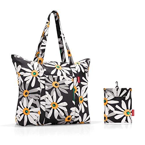 Reisenthel Pieghevole Leggero Da Viaggio Shopper Portatutto Sporta Colori Assortiti Margarite (Daisy)
