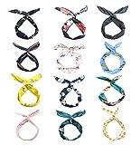 LZYMSZ 12PCS Twist Bow Wired