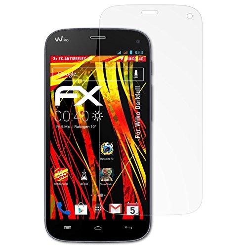 atFolix Schutzfolie kompatibel mit Wiko Darkfull Bildschirmschutzfolie, HD-Entspiegelung FX Folie (3X)