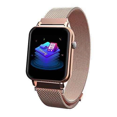 e859fe15cf58 iCoverCase Reloj Inteligente Bluetooth Smartwatch Hombres Mujeres IP67  Impermeable Outdoor Deportes Fitness Tracker con Pulsómetro
