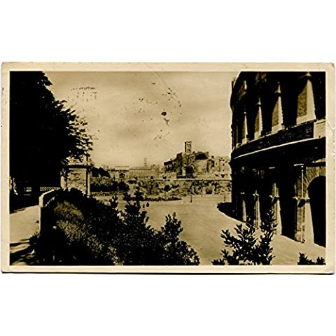 1930 Roma - Foro romano e Tempio