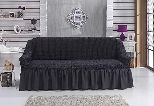 Stretch 2 Sitzer Bezug, 2 Sitzer Husse aus Baumwolle & Polyester. Sehr elastische Sofaueberwurf - 8