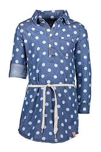 B.Nosy Teens Mädchen Girl Jeans Kleid Longshirt Langarm Blue Denim 5868 (98/104)