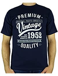 1952 Vintage Year - Aged To Perfection - 65 Ans Anniversaire T-Shirt pour Homme