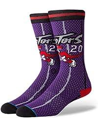 Stance Calcetines NBA Toronto Raptors 96 HWC The Uncommon Thread Morado/Negro/Rojo