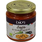 BIO'S - Sauce aux Aubergines Grillées Biologique Italienne - Certifié Demeter biodynamique - 300gr
