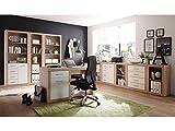 """Büro-Set Büroprogramm Büromöbel Bürosystem Büroeinrichtung Heimbüro """"Lisetta II"""""""