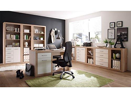 Büro-Set Büroprogramm Büromöbel Bürosystem Büroeinrichtung Heimbüro