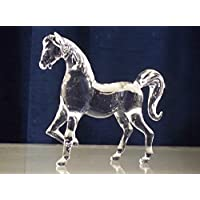 HORSE Figurine Crystal Glass BEAST RACING Gift Favourite FARM Animal