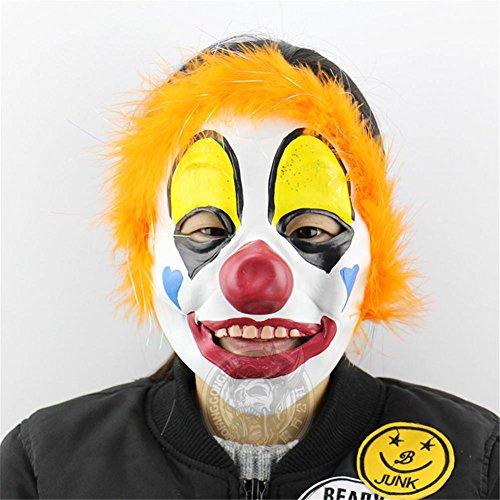 own Halloween Maske Weihnachten Show Requisiten Horror lustige Kopfbedeckung (Niedlich Billige Halloween-kostüme Für Paare)