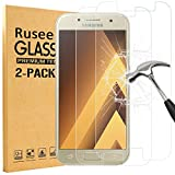 [2 Pack] Samsung Galaxy A5 2017 Screen Protector, Rusee Samsung Galaxy A5 (2017) Tempered Glass Screen Protector with [High Definition][Bubble Free][9H Hardness] Film Guard Cover for Samsung Galaxy A5 (2017)
