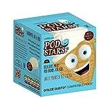 Caffeluxe Pod Stars Dolce Gusto kompatible Kapseln - Jolly Vanillla Ice Cream - Vanille Geschmack - Der Milchshake Hit für Kids - 50 Stück