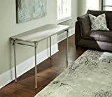20 x 48-Inch Vinyl Top Folding Serving Table , Off White : Cosco Dorel Industries Rectangle Vinyl Top Folding Serving Table, 20 x 48-Inch, Off White